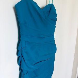 BCBG NWT dress teal size 8